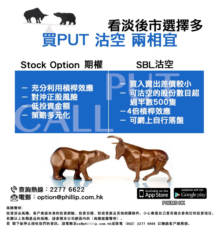 Stock options test